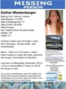 Esther Westenbarger: Last Seen 11/12/09